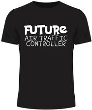 Future Air Traffic Controller Kids T Shirt Funny Gift Novelty Humour Birthday