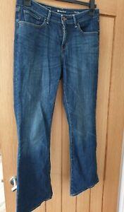 Levi Jeans Classic Rise Boot 30 Demi Curve W30 L30 Leviis