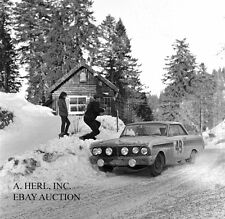 Ford Falcon Sprint 1964 Monte Carlo rally photograph photo rally racing