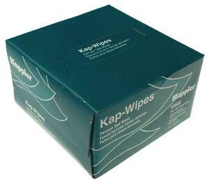 Kappler Kap Wipes 300 Wipe Box Delicate Task 1 Ply White Made USA Scientific