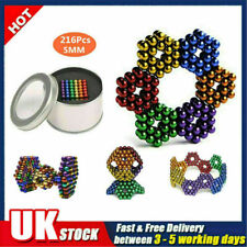 5/3mm Magic Balls Beads 3D Puzzle Ball Sphere Toys-6 COLORS For Adult (With box)
