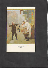 Postcard - Haussner's Restaraunt Collection 'I told you so'. C1970's