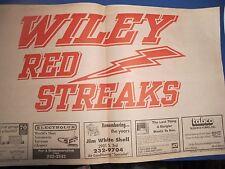 Vintage Rare Terre Haute Tribune Star Remember Wiley School May 31 1991
