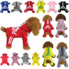 Dog Hoodies Sweatshirt Jumpsuit Casual Pet 4-Leg Small Adidog Clothes Warm