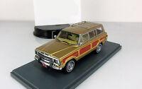 SALE 1:43 Neo  Jeep Grand Wagoneer USA 4x4 4WD 1979 Gold NEO43525