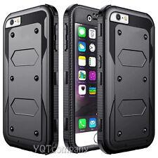 Shockproof Hybrid Rugged Skin Hard Armor Slim Case Cover For Apple iPhone 5S SE