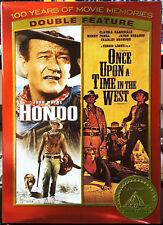 Hondo-John Wayne & Once Upon A Time In The West-Cardinale/Fonda/Bron son Dvd Rare