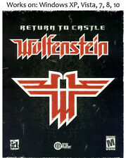 Return to Castle Wolfenstein + Elder Scrolls: Arena + Daggerfall PC Game