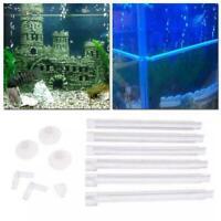Bubble Tube Air Stone Air Oxygen Aeration Pump Curtain Fish Tank Aquarium A8D4