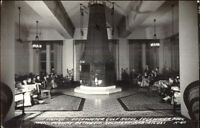 Edgewater Park MS Gulf Hotel Lounge Real Photo Postcard