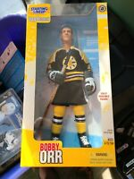 NIB Vintage 1998 Kenner NHL Starting Lineup SLU Boston Bruins Bobby Orr Rare HOF