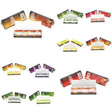 Tobacco Rolling Papers 250 Leaves 5 Fruit Flavor DIY Smoking Cigarette Hemp NEW