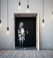 BANKSY BATACLAN GIRL-DEEP FRAMED CANVAS GRAFFITI WALL ART PICTURE PAPER PRINT-