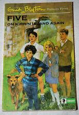FIVE ON KIRRIN ISLAND AGAIN Enid Blyton 1969 Illust Eileen Soper -  paperback