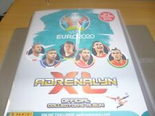 PANINI ADRENALYN EURO 2020 CARDS  COMPLETE SET IN ALBUM..522 cards uk edition