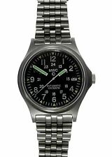 MWC G10 300m 24 Jewel Automatic Military Watch with Sapphire Crystal on Bracelet