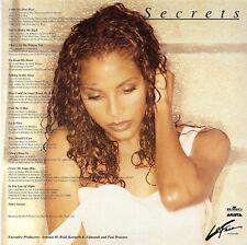 "Toni Braxton "" Secrets "" 1996 LP EU Original Babyface R. Kelly From Japan FedEx"