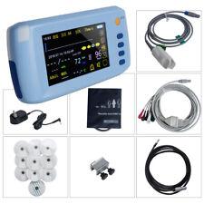 Icu Ccu Portable Patient Monitor Vital Signs 6 Parameter 8000b Cardiac Machine