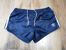 Vintage 80's Adidas Shiny Nylon Shorts Glanz West Germany Size Small D5 (S148)