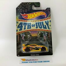 Nissan 350Z * Yellow * Hot Wheels 4th Of July * R13