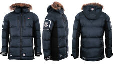 Geographical Norway Men's Very Warm Winter Jacket Parka Quilted Jacket Coat Ski