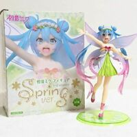 Hatsune Miku Figure Spring Fairy with Wings Vocaloid PVC Statue Anime Japan NEW
