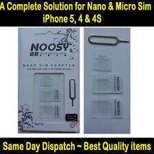 Hot Nano SIM Card & Micro SIM Card & Standard SIM Card Adapter Adaptor Converter