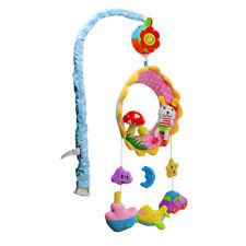 Musical Crib Mobile Bed Bell Baby Rattle Rotating Toys for Baby Kids