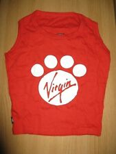 Exclusive K9 by Igloo Virgin Atlantic Doggy T-shirt  XL New in Can