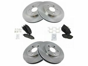 Front and Rear Brake Pad and Rotor Kit For 05-10 Ford Mustang 4.0L V6 BP11Z2