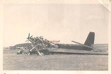 Zerstörtes russ. Martinbomber Flugzeug Flugplatz Minsk Ostfront
