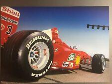 2000 Ferrari F1-2000 Formula 1 Race Car Print Picture Poster RARE!! Awesome L@@K