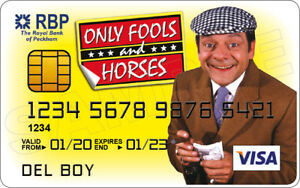 Del Boy - Only Fools and Horses Novelty Plastic Credit Card