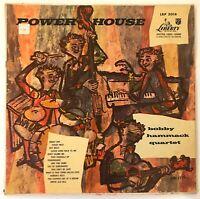 Bobby Hammack Quartet - Power House 1955 Liberty vinyl LP  VG+/VG