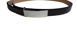 OROTON Black Patent Genuine Leather Belt Sz S RRP$95