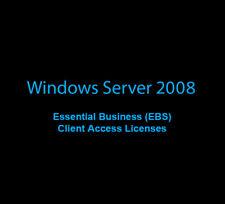 10 user/device CALS Windows Essential Business Server EBS 2008 (r2), x15-19463