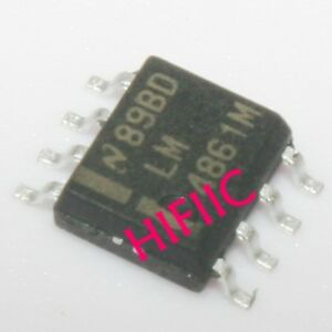 5PCS LM4861MX LM4861M 1.1W Audio Power Amplifier with Shutdown Mode SOP8
