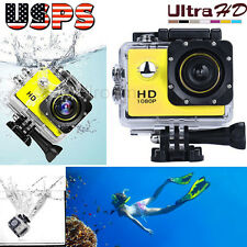 Mini 1080P Full HD DV Sports Recorder Waterproof Action Camera Camcorder YE USPS