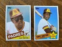 1985 SAN DIEGO PADRES Topps COMPLETE Baseball Team SET 30 Cards GARVEY GWYNN!