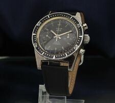 Vintage Nelsons Manual Wind Chronograph Landeron 248 Divers Style Watch