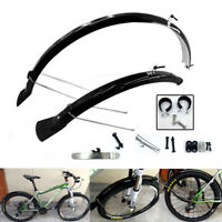 Mountain Road Bicycle Bike Cycling MTB Front Rear Mud Guards Fenders Set 26""