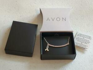 AVON PINK HOPE RIBBON NECKLACE (NEW IN BOX)