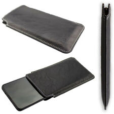 caseroxx Business-Line Case voor Realme Q in black gemaakt van faux leather