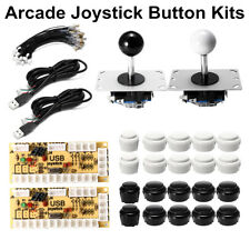 Zero Delay Arcade DIY Kit Game USB Encoder PC Joystick Push Button For MAME