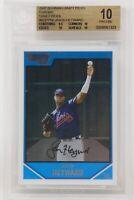 2007 Bowman Draft Picks Chrome Jason Heyward Rookie Braves 🔥Beckett 10 PRISTINE