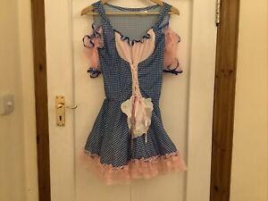 Little Bo Peep Halloween Costume Dress And Hat Age 12 Plus