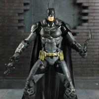 "7"" Batman vs Superman Armor BATMAN Action Figure DC Arkham Asylum Hero Toy"