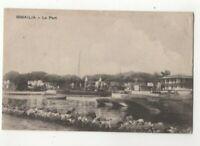 Ismailia Le Port Egypt Vintage Postcard Costi Damilacos North Africa 286c