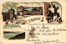 CPA  - Souvenir de Roanne (210772)