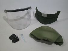 British Army MK6 Helmet Visor Set Clips Cover Neck Protector Airsoft Surplus